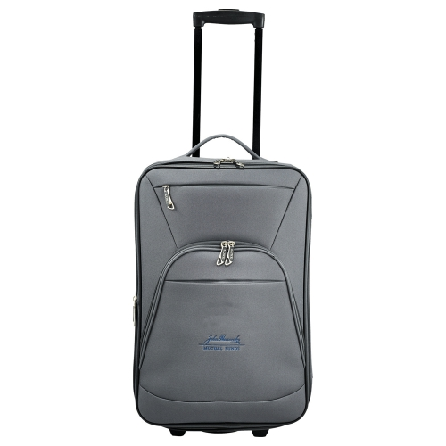 "Luxe 21"" Expandable Carry-On Luggage - large 1"
