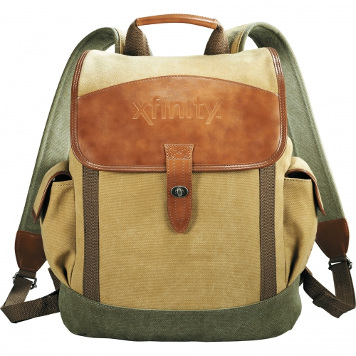 Legacy Cotton Rucksack Backpack - large 1