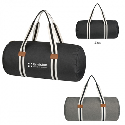 Capetown Heathered Duffel Bag - large 1