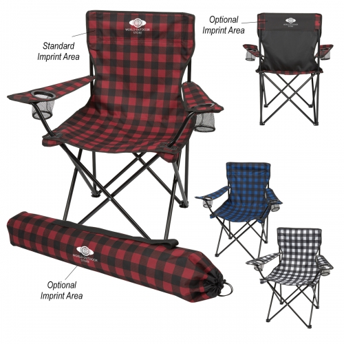 Northwoods Folding Chair With Carrying Bag - large 1