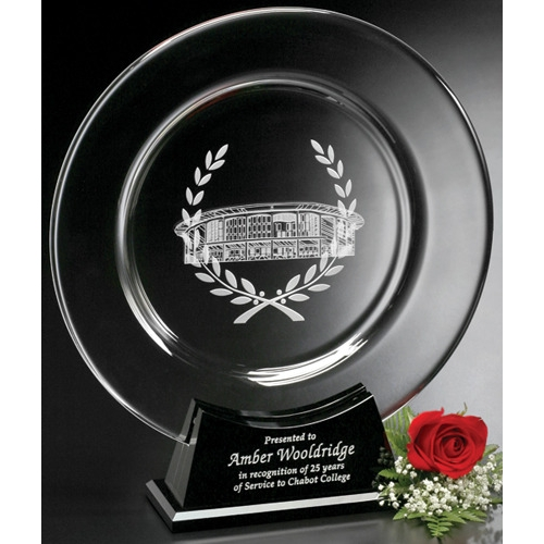 Astoria Plate Engraved Award - 15-1/2 in. - large 1