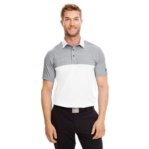Men's UA Playoff Block Polo - large 1