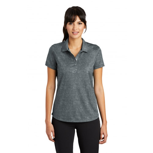 Women's Dri-FIT Crosshatch Polo - large 1