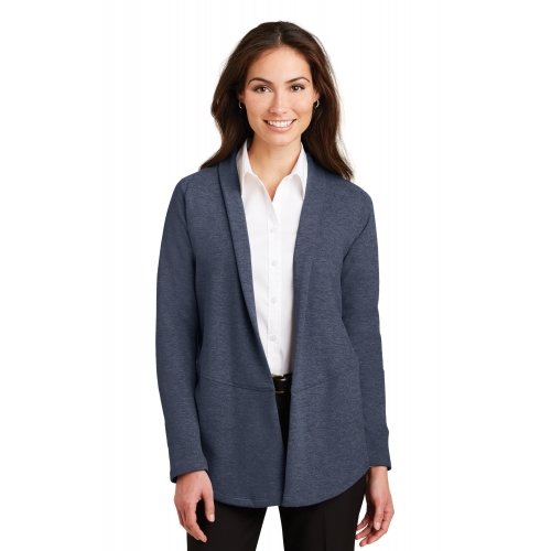 Women's Interlock Open Cardigan - large 1