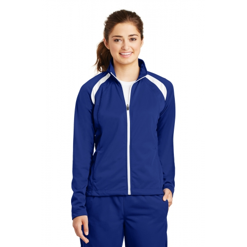 Women's Tricot Track Jacket - large 1