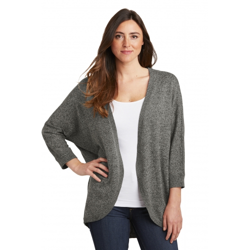 Women's Marled Cocoon Sweater - large 1