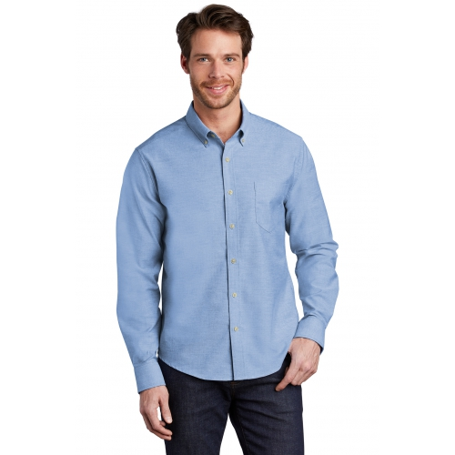 Men's Untucked Fit SuperPro™ Oxford Shirt - large 1