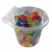 Gummy Bears in Circle Safe-T Fresh Container