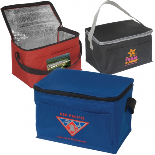 Personal 6-Pack Cooler Bag - large 1